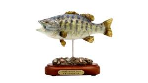 Nippon Tackle Fisch-Statue