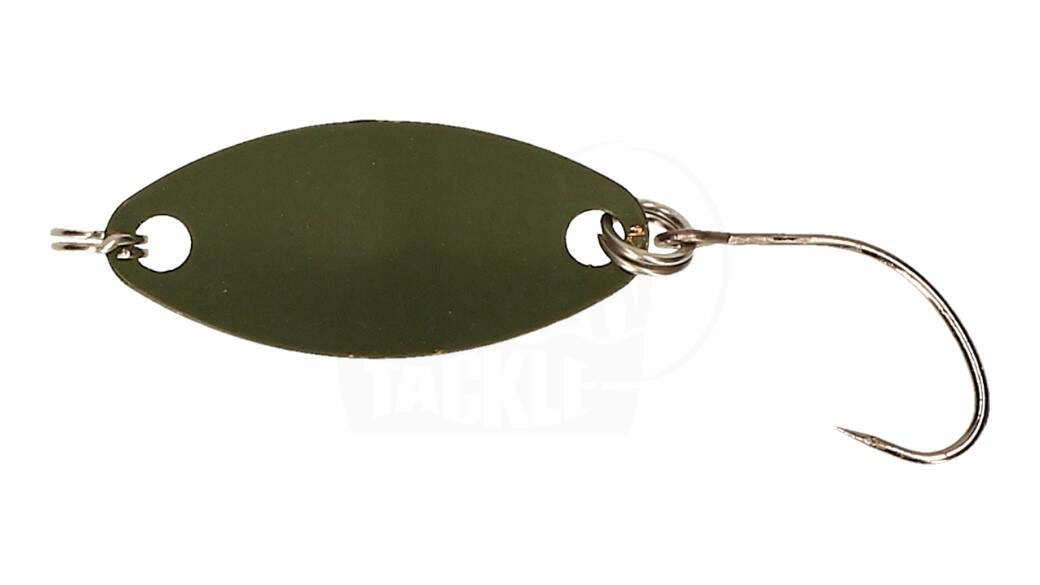 CG Trout Spoon AREA 1,5 g Black / Olive
