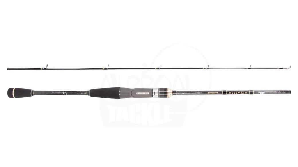Baitcast-Rute 5 bis 21 g A-TEC Crazee Bass Game C6102M