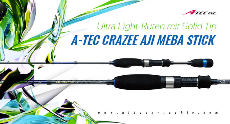 Ultra Light ruten mit Solid Tip - A_TEC Craze